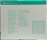 B. Braun Askina Pad Wundauflage 10 x 10 cm Nichthaftend (10 Stk.)