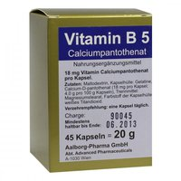 Advanced Pharmaceutical Vitamin B 5 Kapseln (45 Stk.)