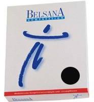 BELSANA Kniestrumpf K2 2 schwarz mit Spitze