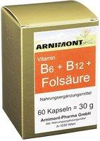 Arnimont Vitamin B 6 + B 12 + Folsauere Kapseln 60 Stk.