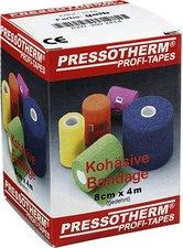 ABC GmbH Pressotherm Kohaesive Bandage 8 cm x 4 m Gelb (1 Stk.)
