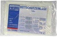 Dr. JUNGHANS Bettschutzeinlage 120 x 90 cm Folie Weiss (1 Stk.)