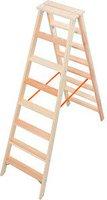 Krause Stufen Doppelleiter 2x8 (818256)