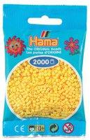 malte haaning Plastic Mini-Perlen 2000 Stück gelb (501-03)