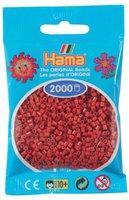 malte haaning Plastic Mini-Perlen 2000 Stück rotbraun (501-20)