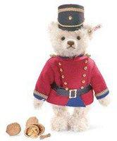 Steiff Teddybär Nussknacker weiß
