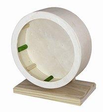 Elmato Holzlaufrad für Hamster (12 x 6,5 cm)