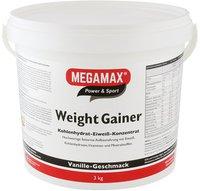 Megamax Weight Gainer Megamax Vanille Pulver (3000 g)