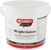 Megamax Weight Gainer Erdbeere Pulver (3000 g)