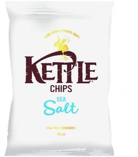 Kettle Foods Chips Sea Salt (150 g)