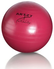 Artzt Fitness-Ball professional 55 cm, rot