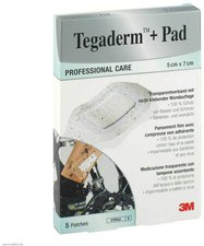 3M Medica Tegaderm Plus Pad 5  x 7 cm 3582NP Pflaster (5 Stk.)