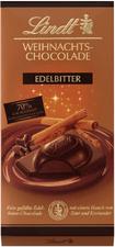 Lindt Weihnachts-Edelbitter-Chocolade 70% (100 g)