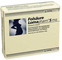 Lomapharm Folsaeure Lomapharm 5 mg Tabletten (100 Stk.)