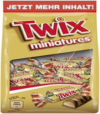Twix Miniatures (150 g)
