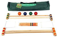 Traditional Garden Games Krocket-Set De Luxe 96 cm