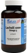 Naturafit Lachsoel 1000 Kapseln (90 Stk.)