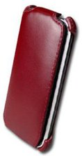 Prestigio Wine Red Plane Leather Case (iPod Touch 2G)