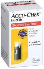 Roche Accu-Chek Fastclix Lanzetten (24 Stk.)