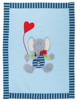 sigikid Lolo Lombardo Krabbeldecke Elefant 75 x 100 cm