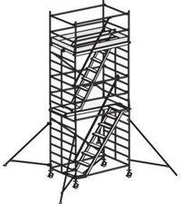 Hymer Treppenfahrgerüst mit Ausleger 6576 06