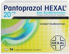 Hexal Pantoprazol magensaftresistente Tabletten (14 Stk.) (PZN:05523582 )
