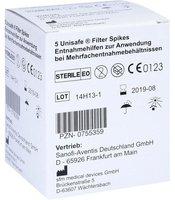 Sanofi-aventis UNISAFE Filter Spikes f. Clexane (PZN 0755359)