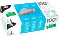 Papstar Handschuhe aus Vinyl, Latex oder Nitril, PF, naturfarben (100 Stk.)
