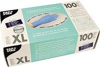 Papstar Handschuhe aus  Nitril, PF, blau (100 Stk.)
