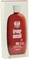 Tiroler Nussöl original Sonnenmilch LSF 30