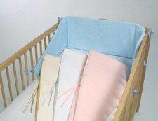 Baby-Plus Nestchen Baumwolle abgeschrägt