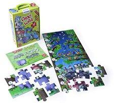 Miniland Bodenpuzzle - Tiere und Zahlen