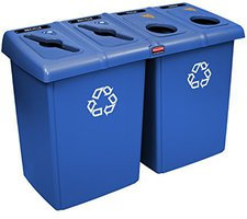 Rubbermaid Glutton Recyclingstation 348 Ltr.