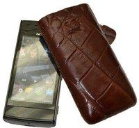 SunCase Leder Etui (Nokia X6)