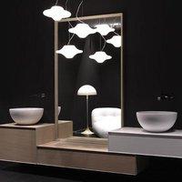 Antonio Lupi SFOGLIA108 rechteckiger Spiegel mit Rahmen 108 x 54 cm