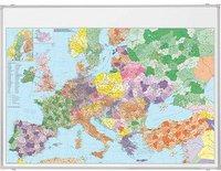 Franken Europakarte magnethaftend 140x100cm