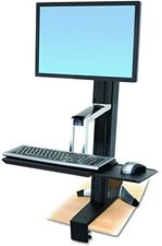 Ergotron WorkFit-S Single HD Sit-Stand Workstation