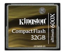 Kingston Ultimate Compact Flash Card 32 GB 600x