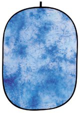 Helios Falthintergrund blau gewolkt