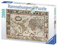 Ravensburger Weltkarte 1650