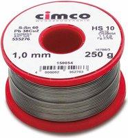 Cimco Elektroniklot 1,0mm 1000g (15 0058)
