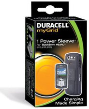 Duracell Power Sleeve myGrid (Blackberry Curve)