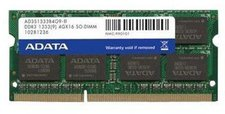 A-Data Premier 8GB Kit SO-DIMM DDR3 PC3-10600 (AD3S1333C4G9-2)