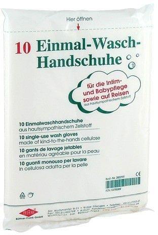 Büttner-Frank Einmalwaschhandschuhe (10 Stk.)