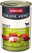 Animonda Petfood Gran Carno Adult Kaninchen & Kräuter (400 g)