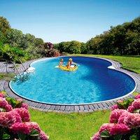 Summer Fun Mallorca Achtformbecken-Set 725x460x120cm