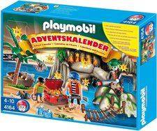 Playmobil Adventskalender Piraten-Schatzhöhle 4164