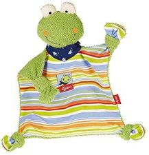 sigikid Fortis Frog - Schnuffeltuch Frosch 21 cm