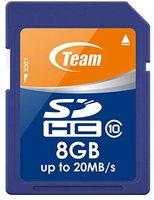 Team Group SDHC Card 8 GB Class 10