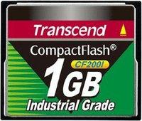 Transcend Compact Flash Card Industrial CF200I 1 GB